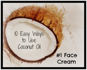 coconut oil face cream