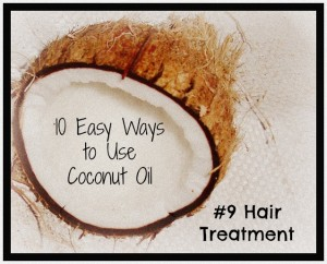 coconut oil hair treatment