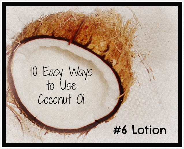 coconut oil lotion benefits