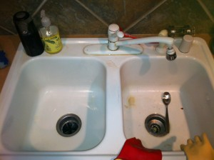 easy non toxic sink cleaner recipe