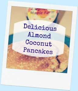 almond coconut pancakes recipe